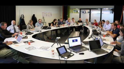 EDISON Kick off meeting round table discussion