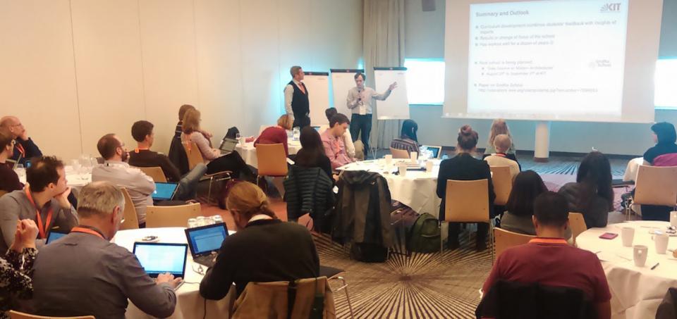 IDCC 2016 - Amsterdam - CODATA/EDISON workshop