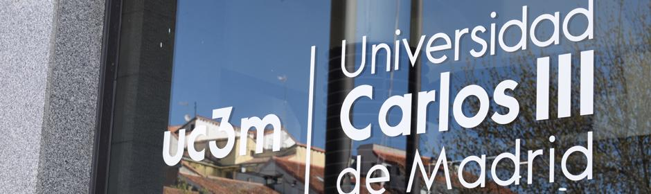 UC3M window, Madrid